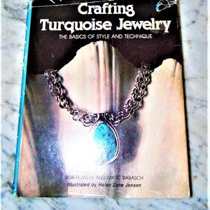 Crafting Turquoise Jewelry Hardcover Bob Powers Cr